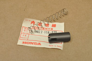 NOS Honda SL70 K0-K1 XL70 K0-1976 Carburetor Throttle Valve Slide & Spring 16022-118-670