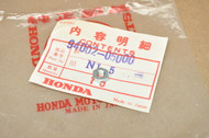 NOS Honda CB160 CL160 CL72 CL77 CT90 CT200 Thin Nut 5 mm 94002-05000