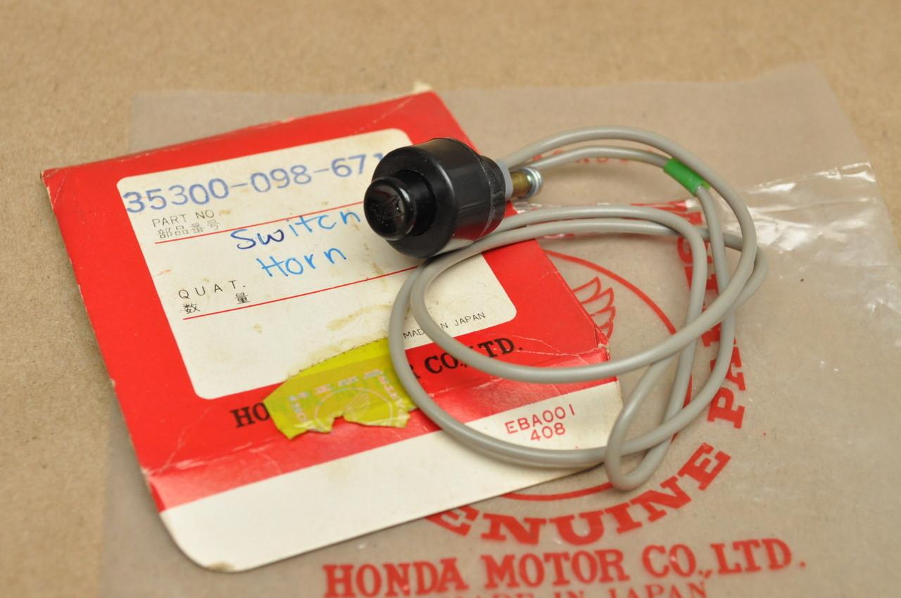 Nos Honda Ct70 K0 Ct70h K1 Sl70 Horn Switch Wire 35300 098 Wiring Image 1