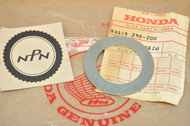 NOS Honda CA72 CB72 CB77 CB350 F CB400 F CB450 CB550 CB750 Steering Stem Dust Seal Washer 53215-250-000