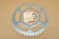 NOS Honda XL250 K0-1976 Rear Drive Chain Sprocket 48T 41201-329-000