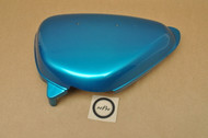 NOS Honda CL100 CL125 Left Side Cover Blue 83640-107-781