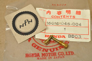 NOS Honda ATC70 ATC90 CB175 CB200 CL175 CL200 CT70 CT90 SL175 ST90 TL125 XR75 Carburetor Screw Set A 16016-046-004
