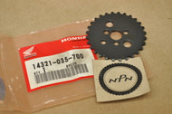 NOS Honda ATC70 C70 CL70 CT70 S65 SL70 TRX70 XL70 Z50 Cam Chain Sprocket 14321-035-700
