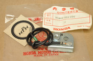 NOS Honda CB175 CB200 CB350 F CB360 CB450 CL175 CL200 CL350 CL360 CL450 XL175 Right Rear Turn Signal Stopper 33605-333-000