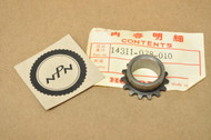 NOS Honda CL90 CM91 CT90 S90 SL90 ST90 Cam Chain Timing Sprocket 14311-028-010