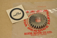 NOS Honda C100 C102 C105 T Transmission Main Shaft Gear 25T 23451-001-030