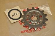 NOS Honda 1986-87 CR250 R CR500 R Front Chain Drive Sprocket 14T 23802-ML3-000
