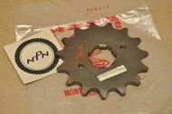 NOS Honda XL250 K0-1976 Front Chain Drive Sprocket 15T 23801-329-000