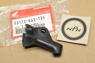 NOS Honda CR125 R CR250 R CR500 R Left Handlebar Clutch Perch Bracket 53172-KA3-730