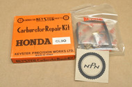 NOS Honda CL90 SL90 Keyster Carburetor Tune Up Repair Rebuild Kit 16010-074-000