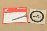 NOS Honda CH80 NB50 NQ50 SE50 TLR200 VT500 XL100 XL125 XL250 R XL350 R XL500 XL600 Taillight Lens Screw 90105-GA7-003