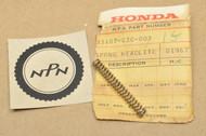 NOS Honda C70 C175 C200 CB160 CL70 CL90 CM91 CT200 CT70 CT90 S90 SL70 SL90 XL80 ZB50 Headlight Mount Spring 33107-030-003