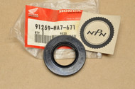 NOS Honda 1986-87 TRX350 1987-89 TRX350D Steering Shaft Oil Dust Seal 91259-HA7-671