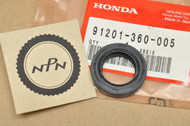NOS Honda CR125 GB500 MR175 MT125 XL600 XR600 Crank Case Oil Seal 91201-360-005