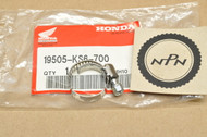 NOS Honda CH125 CH150 CR125 R CR250 R CR80 R GB500 Water Hose Clamp 19505-KS6-700