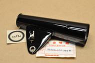 NOS Honda CB100 K2 Black Left Front Fork Cover 51606-107-781 B