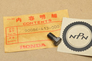 NOS Honda CB125 CB250 CB400 T CB450 CB750 CB900 CBX CM250 CM400 T CM450 CMX250 C Cam Chain Knock Bolt 90086-413-000