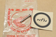 NOS Honda CB650 CB750 F CB900 F CBX GL1000 GL1100  GL500 Turn Signal Tapping Screw 33420-431-780