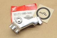NOS Honda 1985 ATC250 ES TRX125 Left Handlebar Brake Lever Bracket Perch  53172-VM6-000