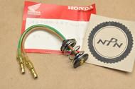 NOS Honda CM200 CB750 CB125 CT70 CT90 CT110 CX500 GB500 GL500 GL650 GL1100 GL1200 Gold Wing NB50 NX50 TLR200 XL80 XL100 XL125 XL185 XL200 XL250 XL350 XL600 XR250 Tail Light Lamp Socket Harness 33708-147-003