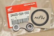 NOS Honda CB100 CB125 CL100 CL125 CT125 NX125 SL100 SL125 TL125 XL100 XL125 Gear Shift Change Drum Stopper 24430-324-000