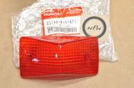 NOS Honda TR200 XR250 R XR350 R XR600 R XR650 R Tail Light Lens 33702-KN5-671