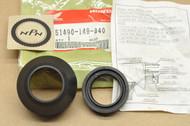 NOS Honda CB125 CR60 MB5 XL100 XL80 XR100 XR80 Front Fork Seal Set 51490-149-840