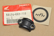 NOS Honda 1983 CR125 R CR250 R CR480 R Handle Bar Bracket Clamp 53174-KA3-710