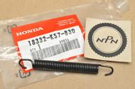 NOS Honda 1989-2004 CR125 R 1988-1991 CR250 R Exhaust Muffler Pipe Spring 18332-KS7-830
