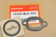 NOS Honda 1986-1987 GL1200 Gold Wing Aspencade Thermostat Water Joint Gasket 19429-ML8-003