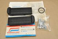 NOS Honda Hondaline ATC200 E ATC200ES Foot Peg Rubber Step Accessory Kit 08136-96900
