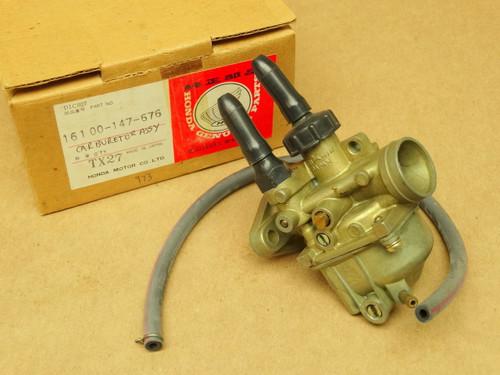 NOS Honda 1977-79 NC50 Express Carburetor Assembly 16100-147-676 - NOS Parts NOW