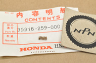 NOS Honda C100 C105 CA72 CA77 CA95 CB72 CB77 CL70 CL72 CL77 CT90 S90 SL350 SL90 Switch Spring 35318-259-000
