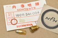 NOS Honda 1976 CB750 K CB750 F Carburetor Float Valve Set 16011-341-004
