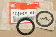 NOS Honda CA95 CB92 CL125 SS125 Exhaust Muffler Pipe Gasket 18291-202-306