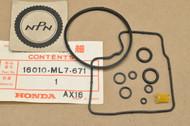 NOS Honda 1986 VFR700 F VFR750 F 1986-87 VFR700 F2 Interceptor Carburetor Gasket Kit Set 16010-ML7-671