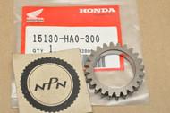 NOS Honda 1985-87 ATC250 ES Big Red ATC250SX TRX250 1986-89 TRX350 Oil Pump Drive Gear 24T 15130-HA0-300
