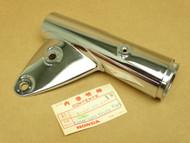 NOS Honda CB350G CB350 K5 Left Headlight Mount Fork Ear Cover Chrome 51606-455-670 XW