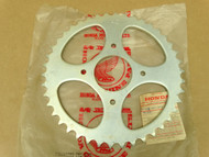 NOS Honda 1976 XL175 Rear Chain Drive Sprocket 42T 41201-391-670