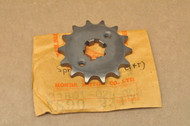 NOS Honda CA95 CL90 CM91 CT200 CT90 S90 SL90 Front Chain Drive Sprocket 14T 23801-028-000