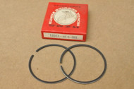 NOS Honda 1976-78 CR125 M Piston Ring Set for 1 Piston 1.00 Oversize 13051-400-003