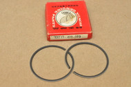 NOS Honda 1976-78 CR125 M MT125 R Piston Ring Set for 1 Piston Standard Size 13011-400-003