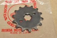NOS Honda XL250 Front Chain Drive Sprocket Optional 14T 23801-329-810