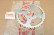 NOS Honda MR50 K0-K1 Rear Chain Drive Sprocket 43T 41201-131-000