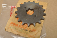 NOS Honda CB750 CL450 K0-K2 Front Chain Drive Sprocket 17T 23801-300-315