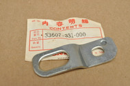 NOS Honda 1977-79 XL75 Right Rear Turn Signal Stay Mount Bracket 33607-331-000