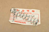NOS Honda CR125 M CR60 CR80 CT90 CT110 MT125 TL250 Front Brake Cable Spring 45454-360-010