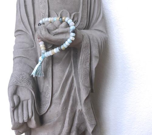Amazonite Prayer Bracelet