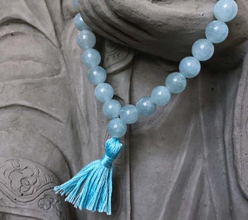 Aquamarine Prayer Bracelet